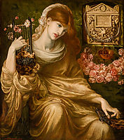 Roman Widow, rossetti