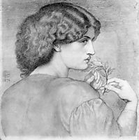 The Roseleaf, rossetti