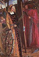 Saint Catherine, rossetti