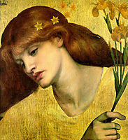 Sancta Lilias, rossetti