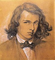 Self-Portrait, 1847, rossetti