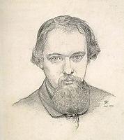 Self-Portrait, rossetti