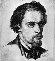 Self-Portrait, c.1855, rossetti