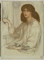 Silence, c.1870, rossetti