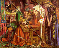 The Tune of the Seven Towers, 1857, rossetti