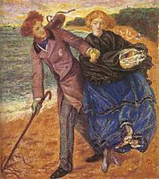 Writing on the Sand, rossetti