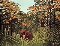 Apes in the Orange Grove, rousseau