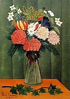 Bouquet of Flowers with an Ivy Branch, 1909, rousseau