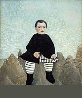 Boy on the Rocks , 1895, rousseau