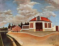 The chair factory at Alfortville , c.1897, rousseau
