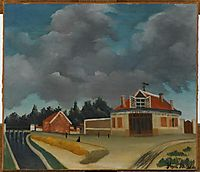 The chair factory at Alfortville, c.1897, rousseau