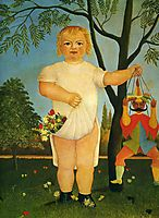 Child with a Puppet , c.1903, rousseau