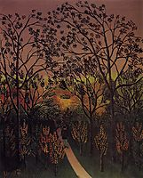 Corner of the Plateau of Bellevue, 1902, rousseau