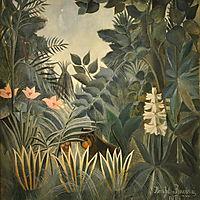 The Equatorial Jungle, 1909, rousseau