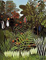 Exotic Landscape, rousseau