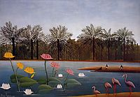 The Flamingoes, rousseau