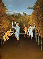 The Football players, rousseau