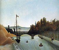 Footbridge at Passy, rousseau
