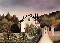 House on the Outskirts of Paris, rousseau