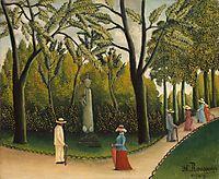Jardin du Luxembourg, rousseau