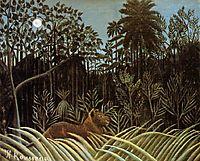 Jungle with Lion, 1910, rousseau