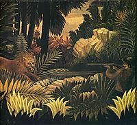 The Lion Hunter, rousseau