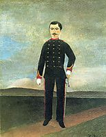 Marshal des Logis Frumence Biche of the 35th Artillery, c.1893, rousseau