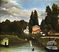 the Mill at Alfor, 1905, rousseau