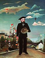 Myself, Portrait, 1890, rousseau