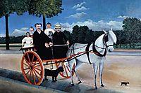 Old Juniere-s Cart, 1908, rousseau