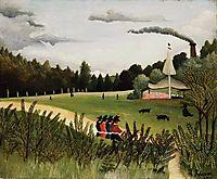Park with Figures, rousseau
