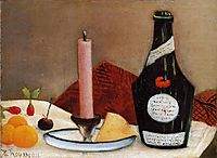 The Pink Candle, 1910, rousseau