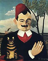 Portrait of Monsieur X,Pierre Loti., 1910, rousseau