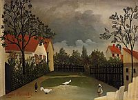 The Poultry Yard, 1898, rousseau