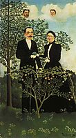 The Present and the Past or Philosophical Thought, 1899, rousseau