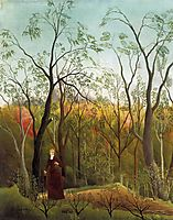Promenade in the Forest, 1886, rousseau