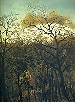 Rendez vous in the Forest, 1889, rousseau