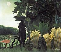 The Snake Charmer, 1907, rousseau