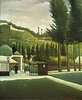 The Toll House , 1890, rousseau