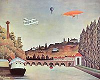 View of the Bridge Sèvres, 1908, rousseau