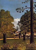 View of Parc de Montsouris, 1895, rousseau