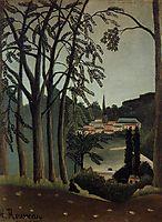 View of Saint Cloud, 1909, rousseau