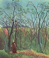 The Walk in the Forest , 1890, rousseau