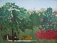 The Waterfall, 1910, rousseau