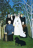 The wedding party , c.1905, rousseau