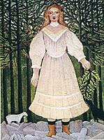 Young Girl in Pink, 1893-5, rousseau