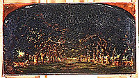 The avenue of chestnut trees, 1840, rousseautheodore