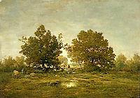Gateway, 1855, rousseautheodore