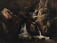 Landscape in the Auvergne, c.1830, rousseautheodore