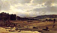 Landscape with Farmland, c.1832, rousseautheodore